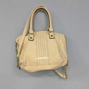 Nine West Ivory Cream Purse Shoulder Crossbody Bag